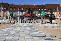 Breisacher Marktplatz Pflaster wird rund 100 000 Euro teurer