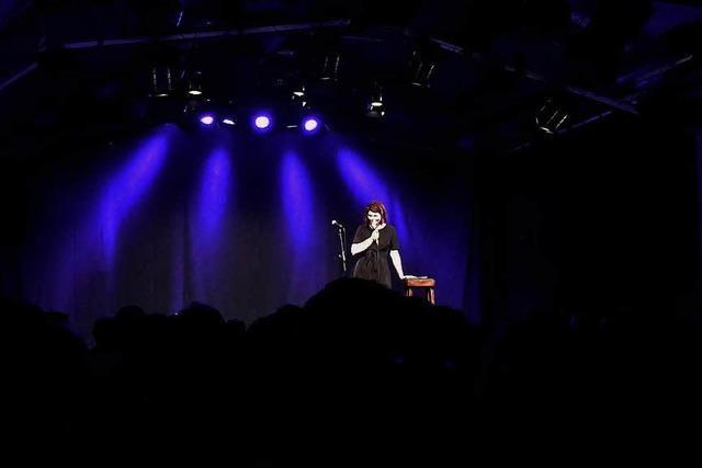 Was ging bei … der Poetry Slam-Show mit Sophie Passmann im Vorderhaus?