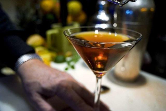 Auf Frank Hassenzahls Karte stehen mehr als 200 Cocktails