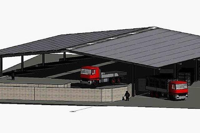 Recyclinghof in Herten soll im Frühjahr eröffnet werden