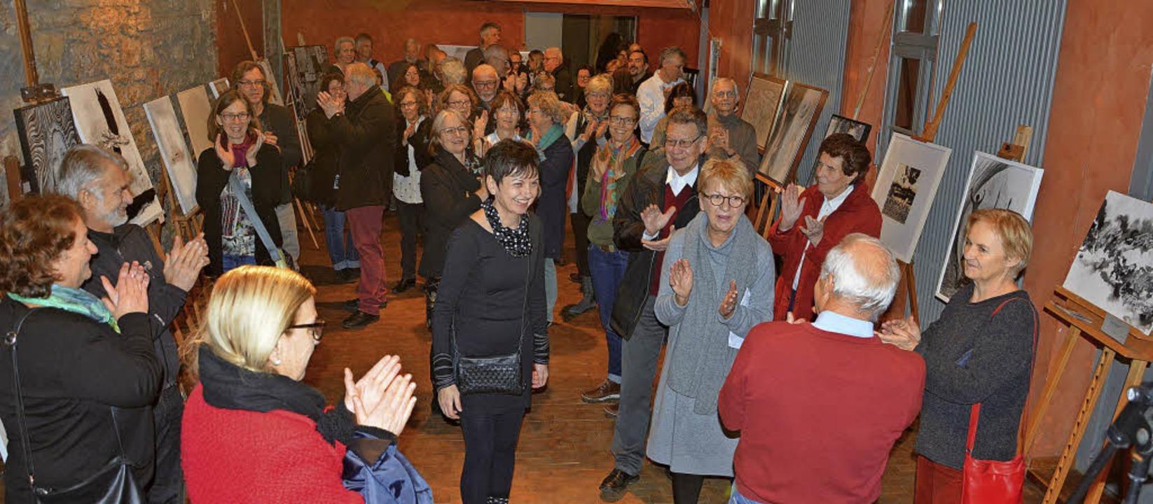 Die Winterausstellung des Vereins Bildende Kunst zog zahlreiche Besucher an.   | Foto: Barbara Ruda