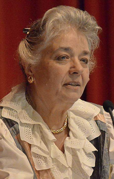Karin Jäckel vom Autorennetzwerk Ortenau-Elsass     Foto: privat