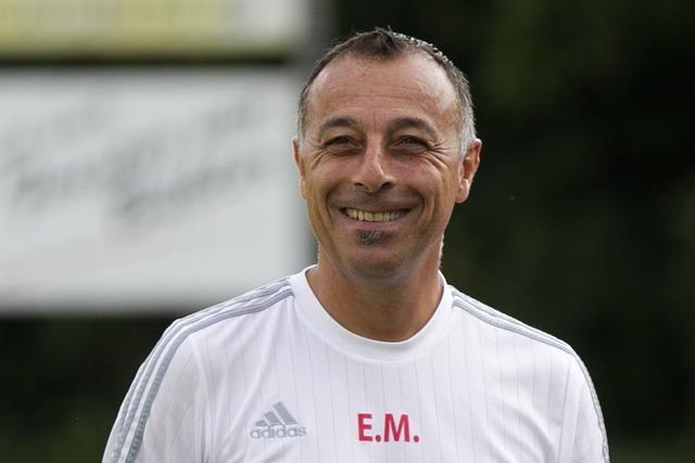 Enzo Minardi folgt im Sommer als Trainer auf Ralf Moser beim FV Lörrach-Brombach