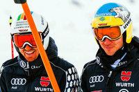 Ski-Asse nach Kreuzbandrissen: Geteiltes Leid, halbes Leid