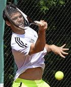 Von zufriedenen Tennisspielern