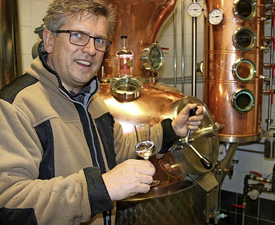 Willi Ritter betreibt in seinem Eltern...agiert sich Ritter auch in  Vereinen.   | Foto: horst david
