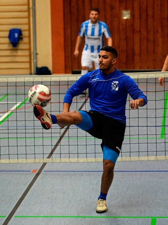 Fußballtennisturnier in Bahlingen.