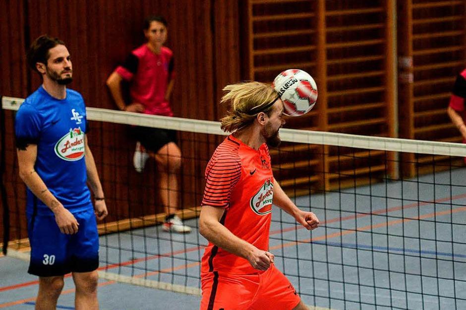 Fußballtennisturnier in Bahlingen. (Foto: Patrick Seeger)