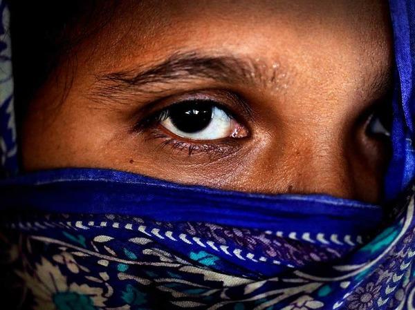 Frauen im Flüchtlingslager in Kutupalong