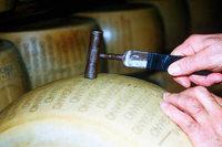 Parmesanhersteller verwenden ihren Käse für Kredite bei Banken
