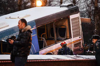 Bus fährt in Moskau in Menschenmenge - mehrere Tote