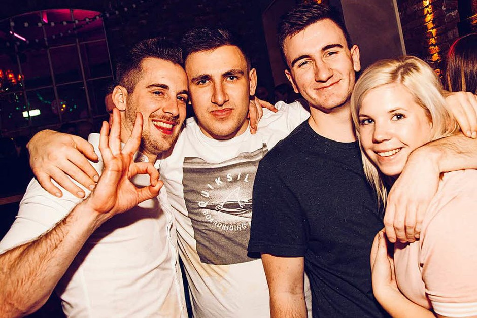 Party in Fröhlichs Kneipenclub in Lahr. (Foto: Justin Baeumle)