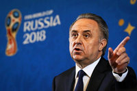 Russlands Fußball-Präsident Witali Mutko lässt sein Amt ruhen