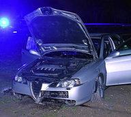 Nach Unfall einen Polizisten beleidigt
