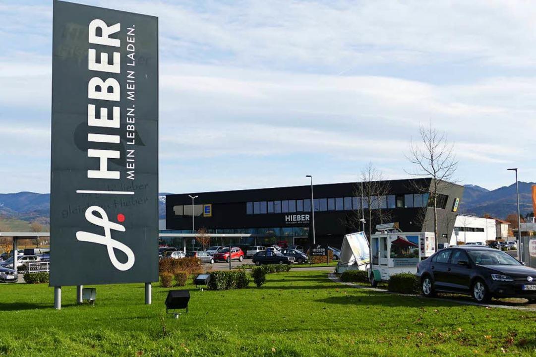 Der Hieber-Markt in Bad Krozingen hatt... am Mittwoch bereits wieder geöffnet.   | Foto: Hans-Peter Müller