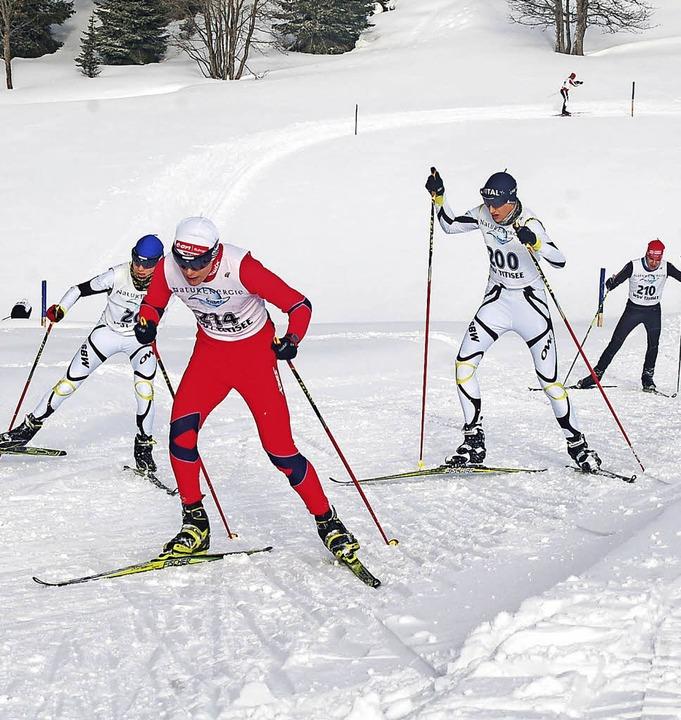 Letzte Wintersport-Entscheidung in die...erlauf des WSV Titisee am Herzogenhorn  | Foto: Helmut Junkel