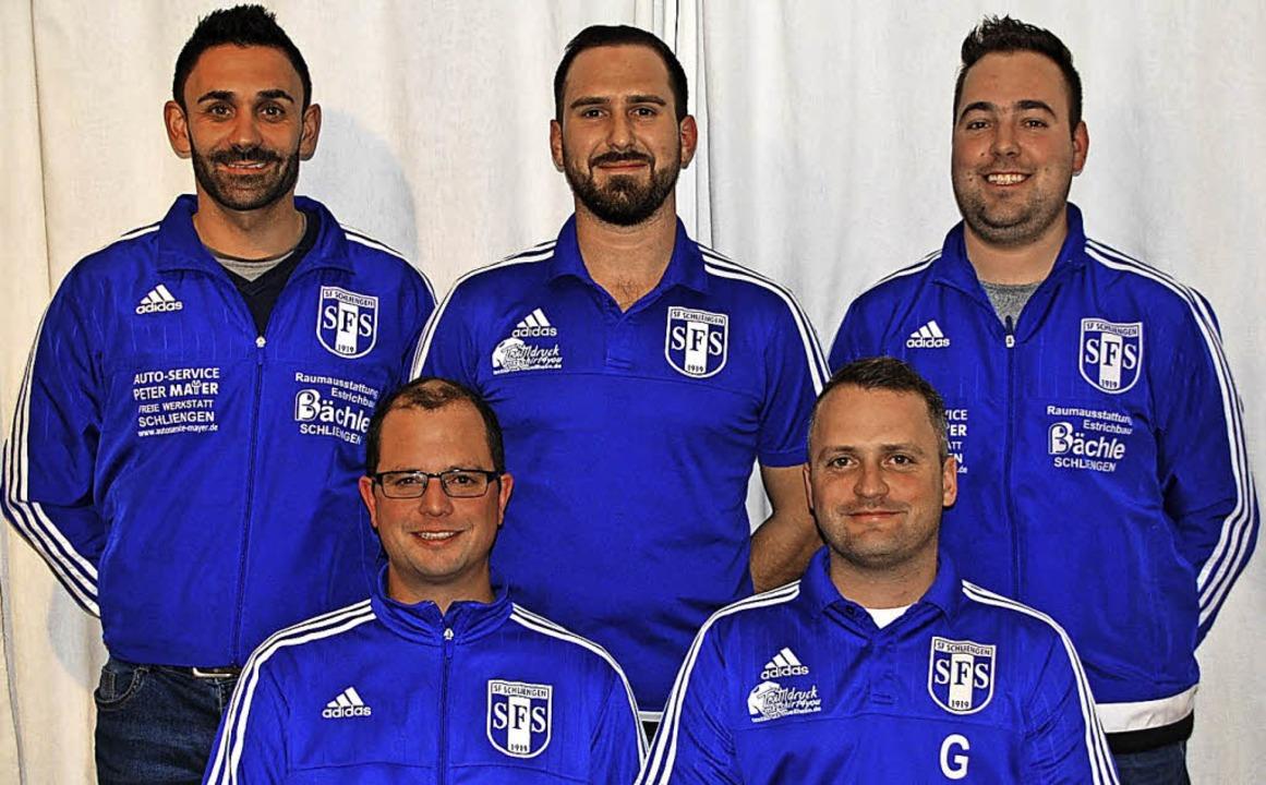 Die Verantwortlichen der Sportfreunde ...r Gerrit Höveler (vorne von  links)     | Foto: privat