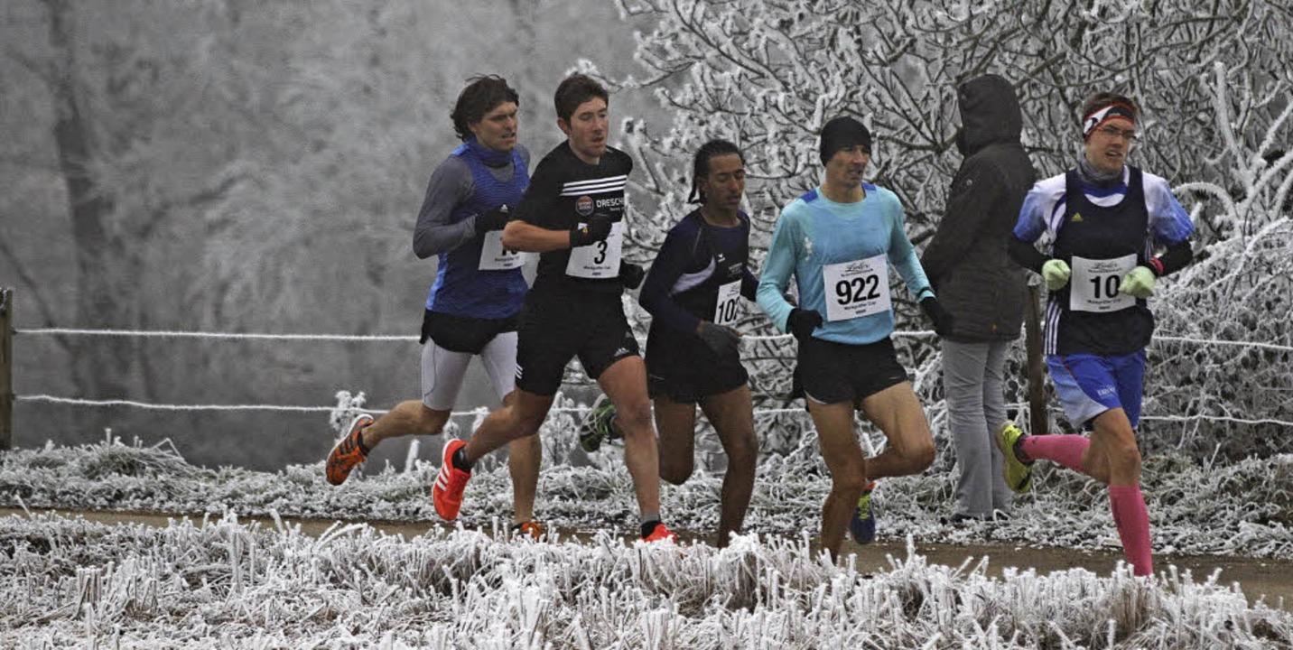 Am Silvesterlauf in Britzingen werden ...Topläufer  aus der Region teilnehmen.   | Foto: Winfried Stinn