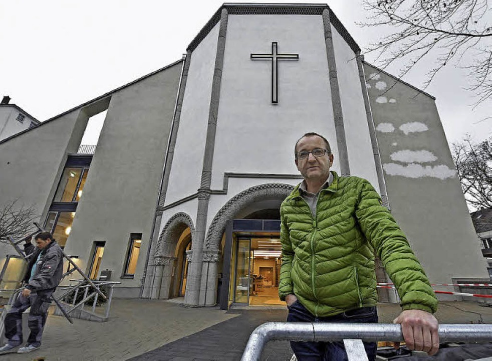 Diakon Norbert Aufrecht hat seinen ers...ch – und freut sich auf weitere.  | Foto: Michael Bamberger