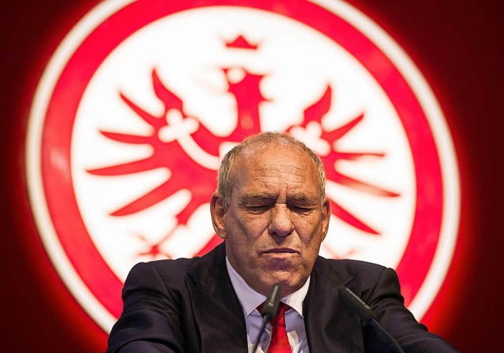 Peter Fischer, Präsident von Eintracht Frankfurt.  | Foto: dpa