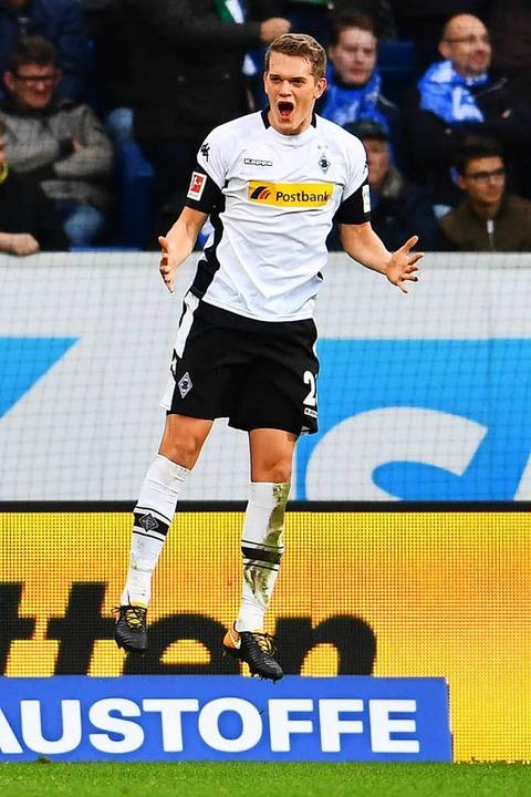 Matthias Ginter, Verteidiger bei Mönchengladbach hat sich verlobt.    Foto: dpa