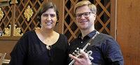Trompete und Orgel am 1. Januar in Münstertal