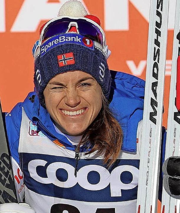 Die Titelverteidigerin: Heidi Weng aus Norwegen   | Foto: dpa