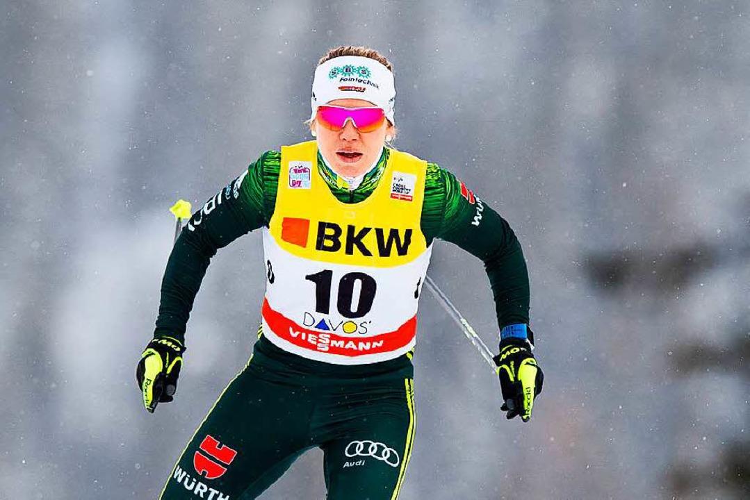 Sandra Ringwald ist bereits für die Olympischen Spiele qualifiziert.  | Foto: dpa