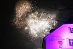 Fotos: Silvesterfeier auf der Rheinfelder Rheinbrücke