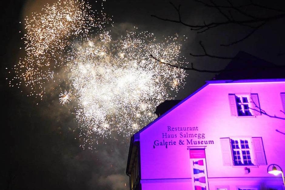 Eindrücke von der grenzüberschreitenden Silvesterfeier beider Rheinfelden (Foto: Horatio Gollin)