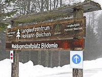 Beim Langlaufzentrum Hohtann läuft viel