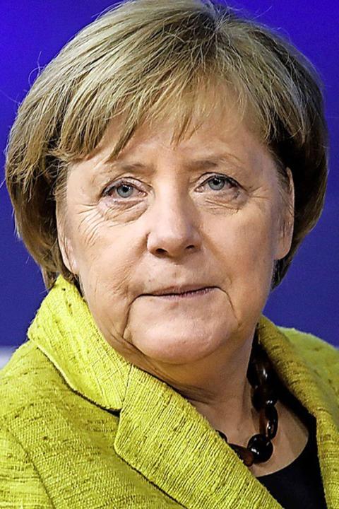 Angela Merkel    Foto: AFP