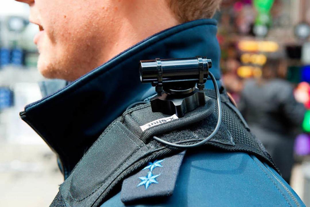 Können Bodycams helfen?  | Foto: dpa