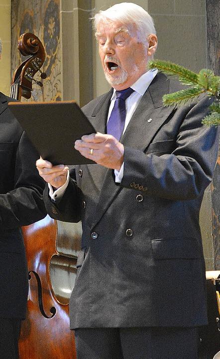 Chorsänger aus Leidenschaft: Karl-Anton Weisser war 65 Jahre im Münsterchor.     Foto: Evers