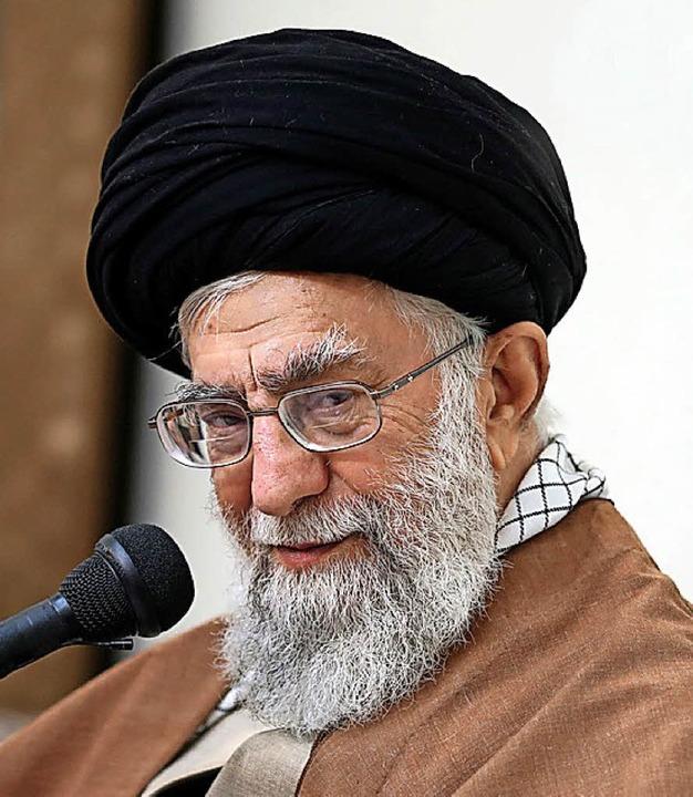 Ali Khamenei     Foto: AFP