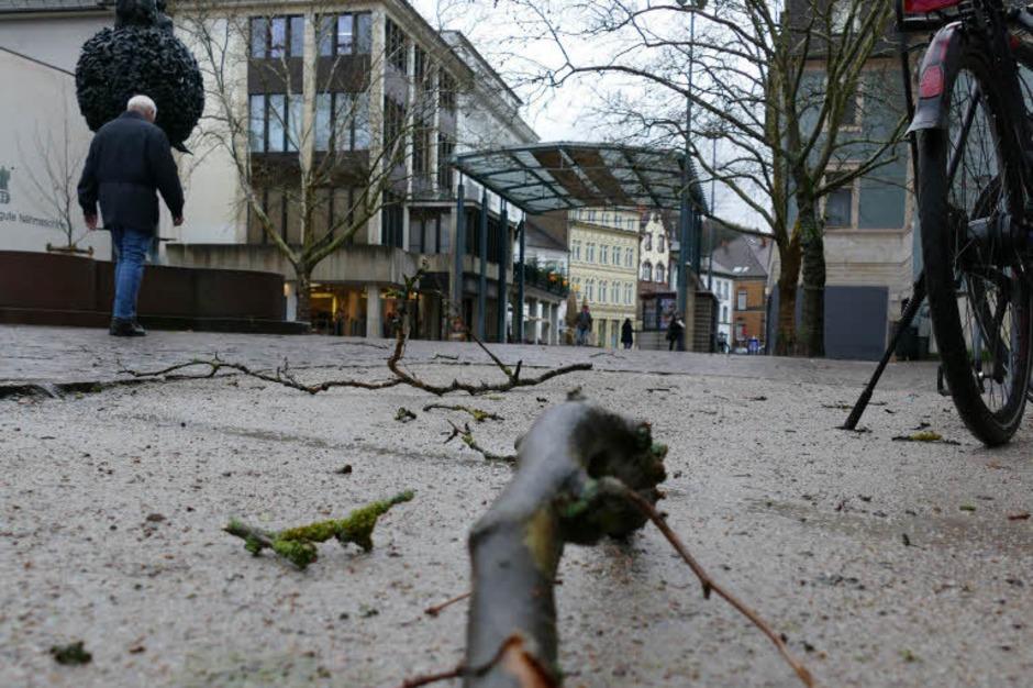 Marktplatz, Lörrach (Foto: Jannik Jürgens)