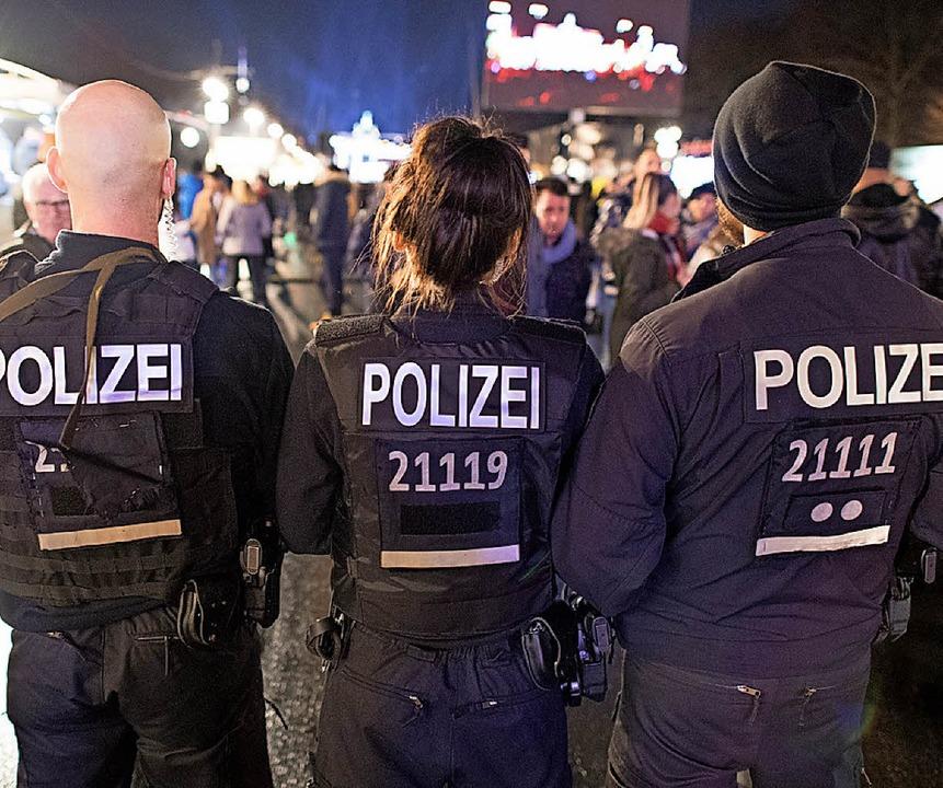Bei der Polizei fehlt laut DBB Personal.    Foto: dpa