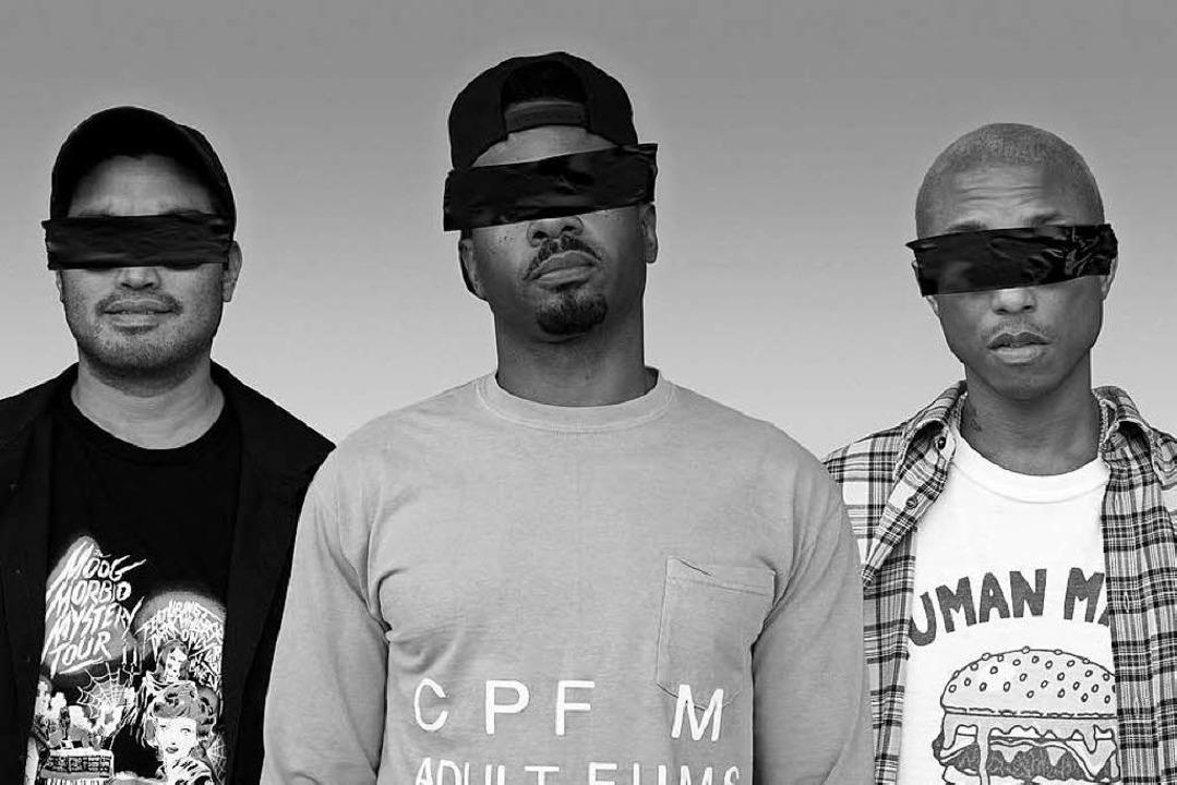 N.E.R.D: Chad Hugo, Shay Haley, Pharrell Williams (von links)  | Foto: Sony Music