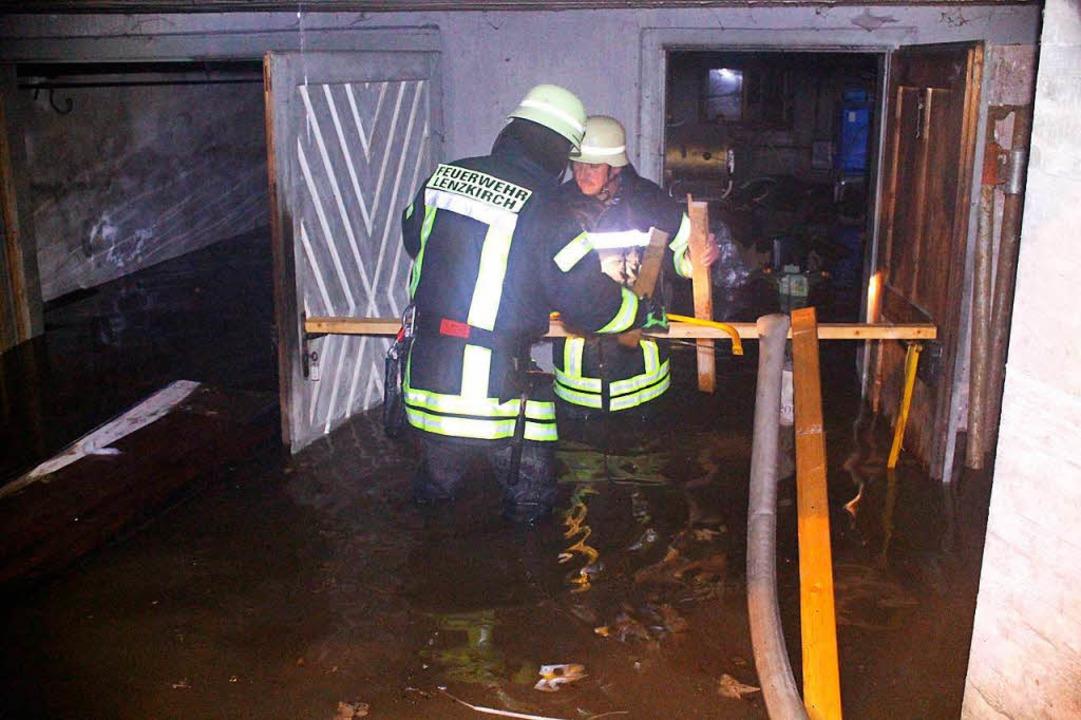Hochwasser in Lenzkrich  | Foto: kamera24