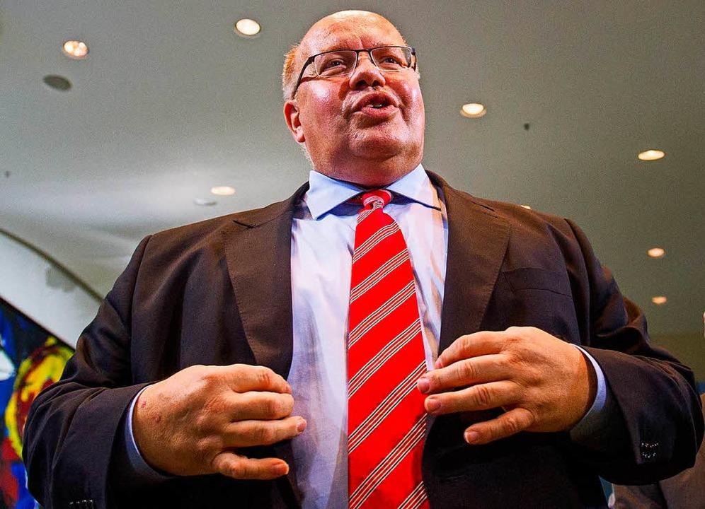 Schäubles Nachfolger: der neue Finanzminister Peter Altmaier (CDU).  | Foto: Lukas Schulze