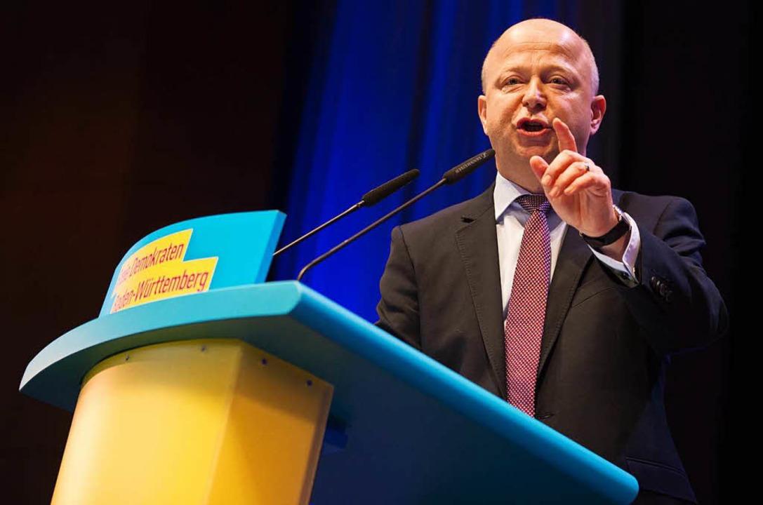 Michael Theurer, Vorsitzender der baden-württembergischen FDP  | Foto: dpa