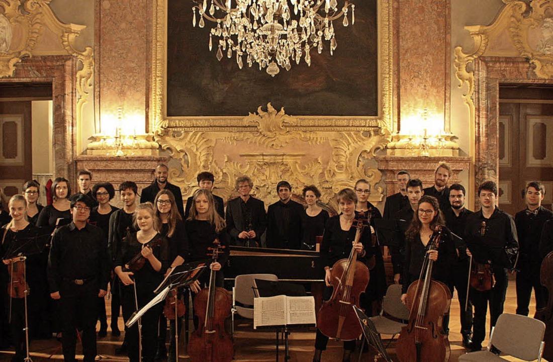 Feudale Kulisse: Landesjugendbarockorchester in Rastatt | Foto: elias Klein