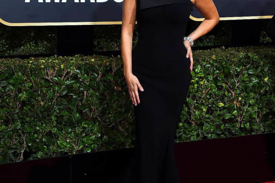 Reese Witherspoon ist eine der Initiatorinnen der Aktion. Auslöser war der Skandal um den US-Film- und Fernsehmogul Harvey Weinstein, der mehr als hundert Frauen sexuell belästigt oder gar vergewaltigt haben soll. (Foto: dpa)