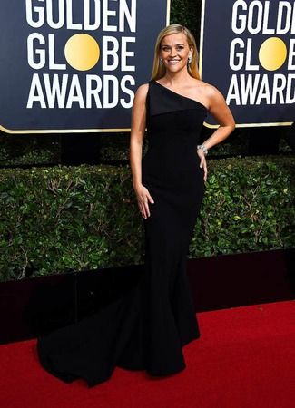 Reese Witherspoon ist eine der Initiatorinnen der Aktion. Auslöser war der Skandal um den US-Film- und Fernsehmogul Harvey Weinstein, der mehr als hundert Frauen sexuell belästigt oder gar vergewaltigt haben soll.