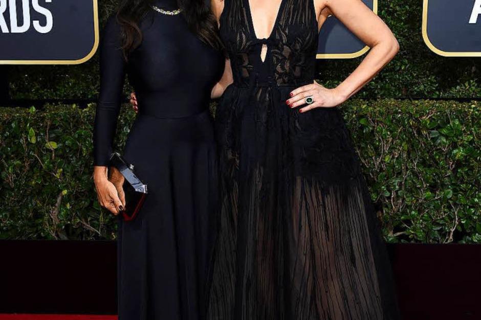 Salma Hayek (links) und Ashley Judd (Foto: dpa)