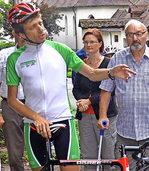 Ausdauerradsportler Fuhrbach fuhr diesmal durch Europa
