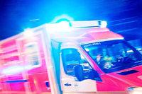 Zwei Schwerverletzte bei Frontalzusammenstoß auf der B 33