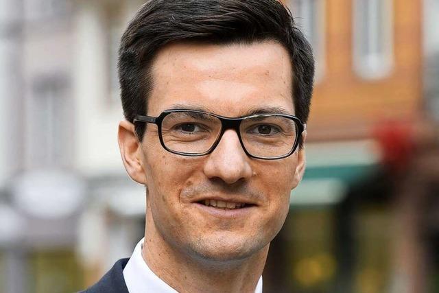 Martin Horn aus Sindelfingen will Oberbürgermeister von Freiburg werden