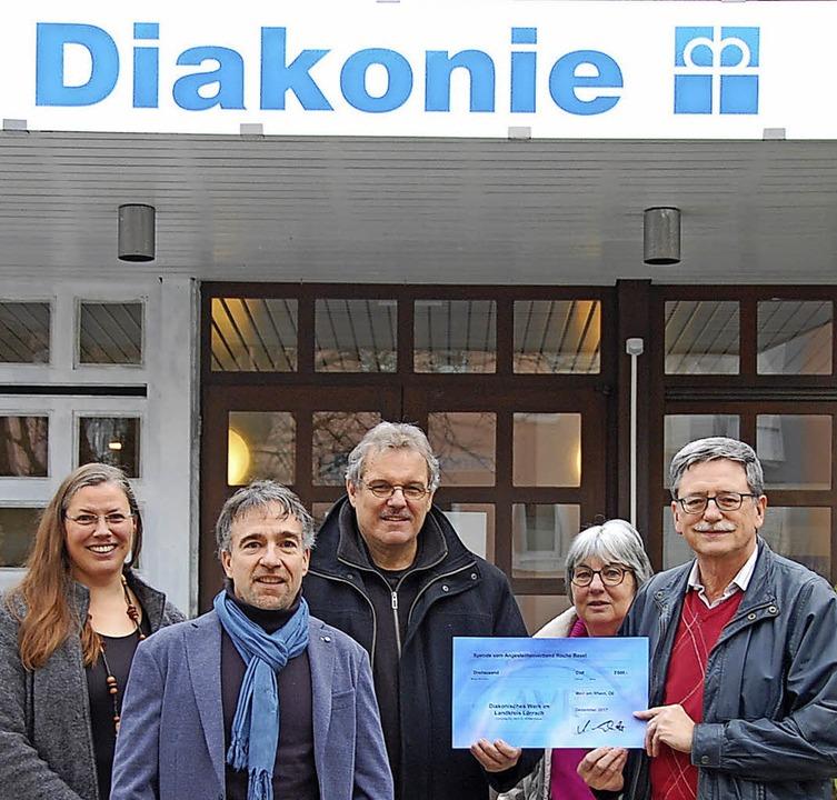 Silvia Frank, Volker Hentschel und Mic...lltenverbandes der Roche (von links).   | Foto: Herbert Frey