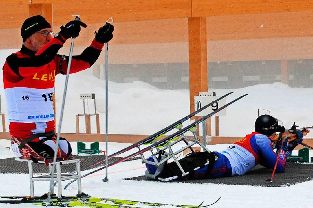 Mit ihren Leistungen beim Biathlon beg...-Skisportler schon 2014 am Notschrei.   | Foto: Archivfoto Lück